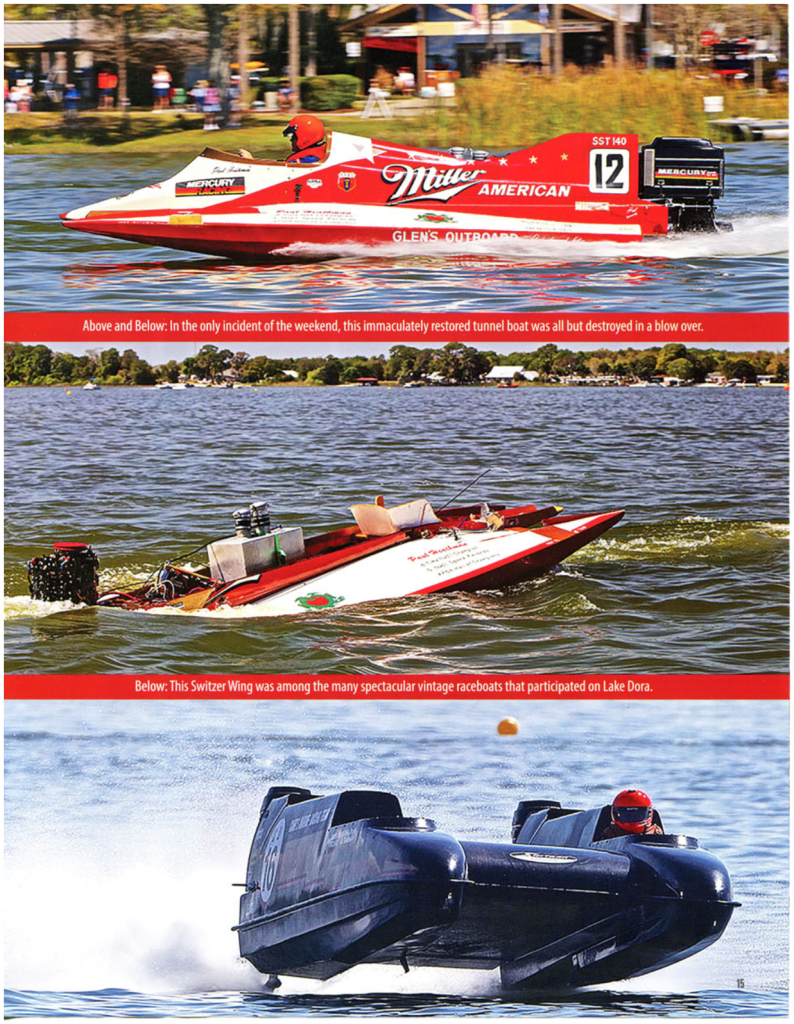 FVRC 2020 Spring Thunder Trio of Racerboats